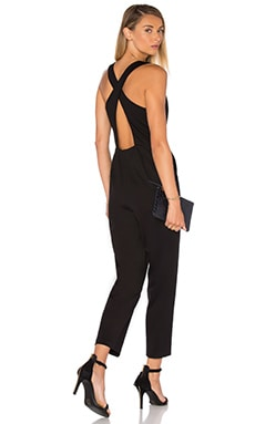 Amanda Uprichard Santiago Jumpsuit in Black