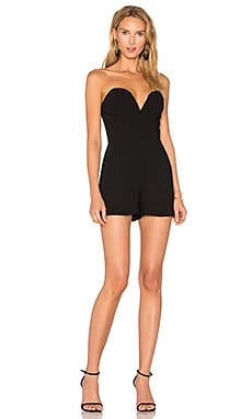 Cherri Romper in Black