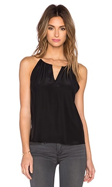 Amanda Uprichard Chain Top in Black