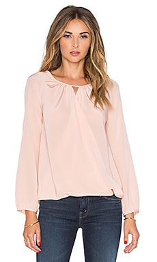 Amanda Uprichard Peasant Top in Ballet