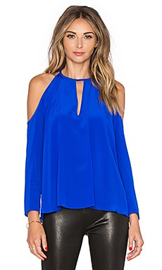 Amanda Uprichard Jasmine Top in Royal