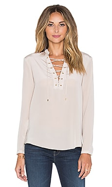 Amanda Uprichard Winslow Top in Bone