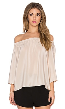 Amanda Uprichard Nirvana Top in Bone