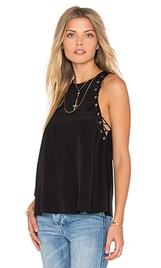 Amanda Uprichard Allegra Tank in Black