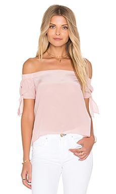 Desiree Top en Rose Poudré
