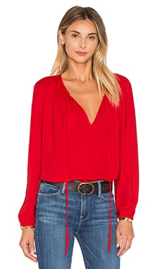 Alessia Blouse in Candy Apple