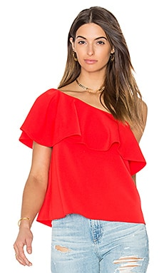 Zoe Top in Candy Apple