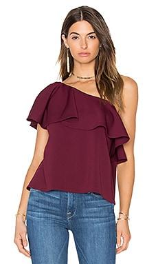 Zoe Top in Wine