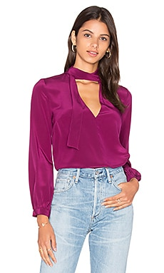 Francesca Tie Neck Blouse