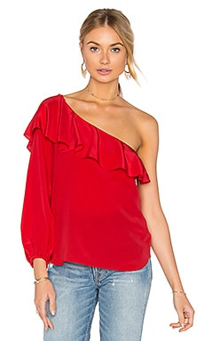 Luella Top en Rouge