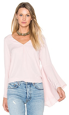 Laura Top in Dusty Rose