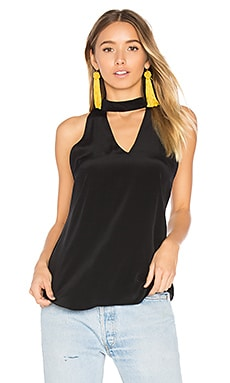 Cassia Tank in Black