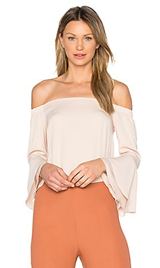 Arabelle Top in Bisque