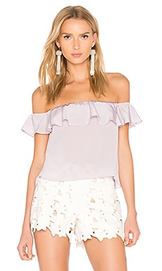 Sleeveless Joanna Top in Lilac