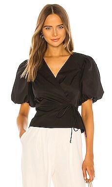 Блузка maggie - Amanda Uprichard Черный фото