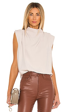 Sleeveless Fabienne Top Amanda Uprichard $150 NEW