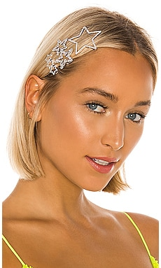 Star Hair Clip Set Amber Sceats $169 NEW ARRIVAL