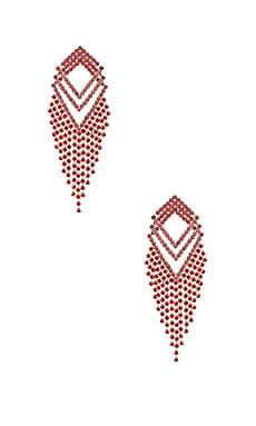 X REVOLVE Angela Earrings Amber Sceats $120