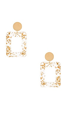 Milan Earrings Amber Sceats $149