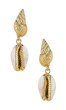 Kelsi Earrings Amber Sceats $75