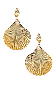 Katrina Earrings Amber Sceats $149