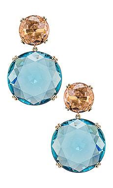 Circle Earrings Amber Sceats $149