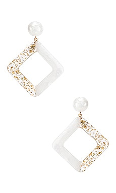 Jetta Earrings Amber Sceats $139