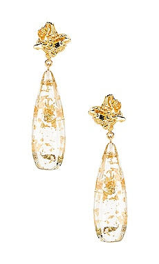 Julia Earrings Amber Sceats $96