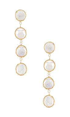 Rylee Earrings Amber Sceats $259