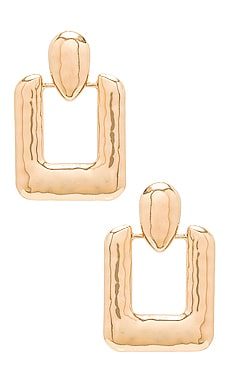 PENDIENTES RECTANGLE Amber Sceats $51