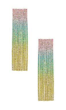 PENDIENTES LARGOS Amber Sceats $159
