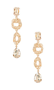 Embellished Mis-Matched Drop Earring Amber Sceats $32 (FINAL SALE)