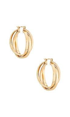Triple Hoop Earring Amber Sceats $32 (FINAL SALE)