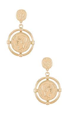 Coin Earring Amber Sceats $27 (FINAL SALE)