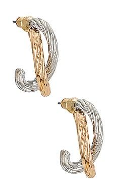 Hoop Earrings Amber Sceats $53