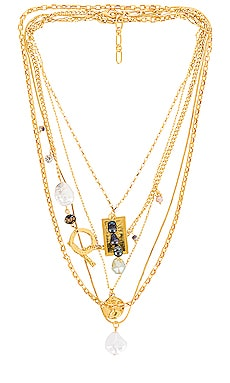 Layered Necklace Amber Sceats $79