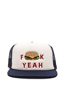 Ambsn Yeah Burg Hat in Navy