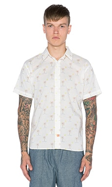 Ambsn Pismo Button Down in White