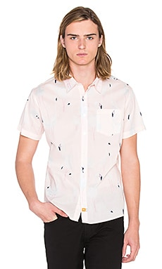 Ambsn Mingo Button Down in Pink