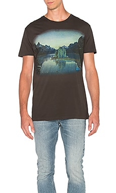 Ambsn x Chris Burkard Alberta Tee in Coal
