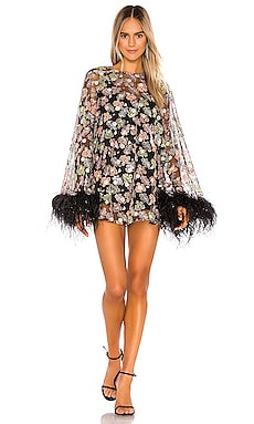 Celestial Creature Feather Swing Dress Alice McCall $695 NEW ARRIVAL