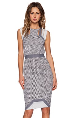 Alice McCall Wild Horses Dress in Grey Melange