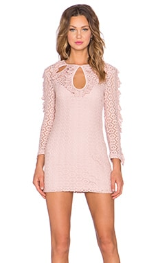 Black Magic Woman Dress in Blush