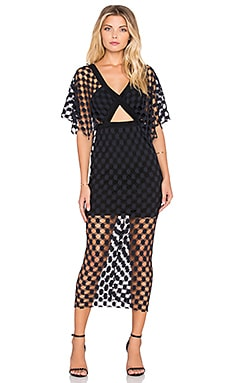Alice McCall Those Were The Days Dress in Black