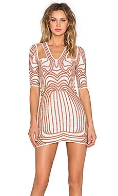 Monument Dress in Copper