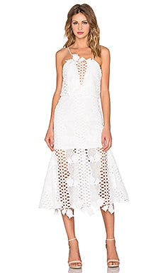 Love Light Dress in White