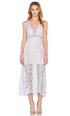 Alice McCall Wanderlust Dress in Powder Blue