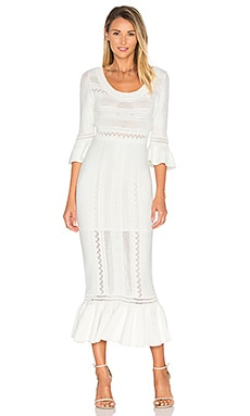 Mercy Dress in White