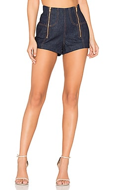 One Million Lovers Short in Indigo