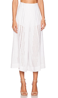 Alice McCall Split Step Pant in Chalk